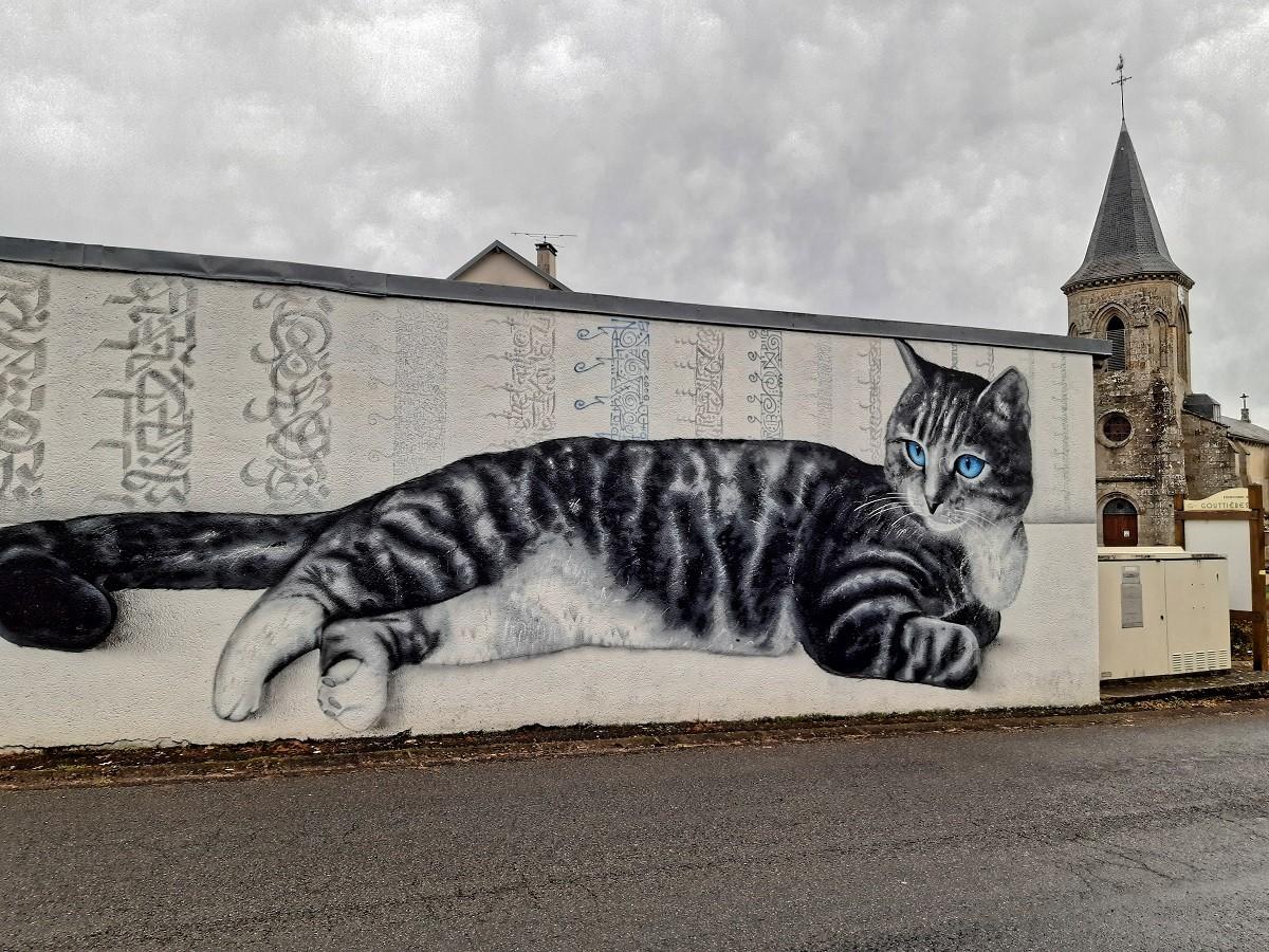 Calligraphie cat