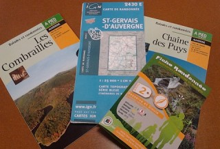 Maps, topoguides and information sheets