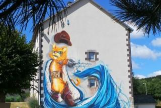 Balade originale à la découverte du Cat Street Art