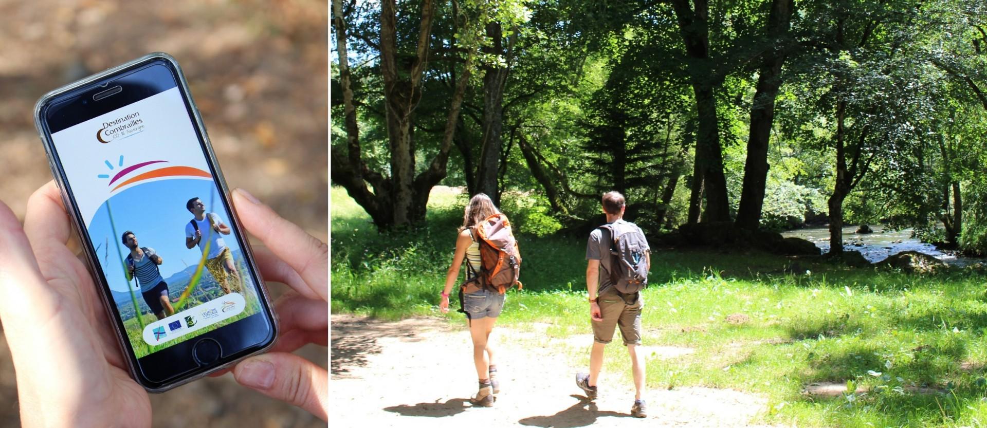 appli-Combrailles balades et randonnée