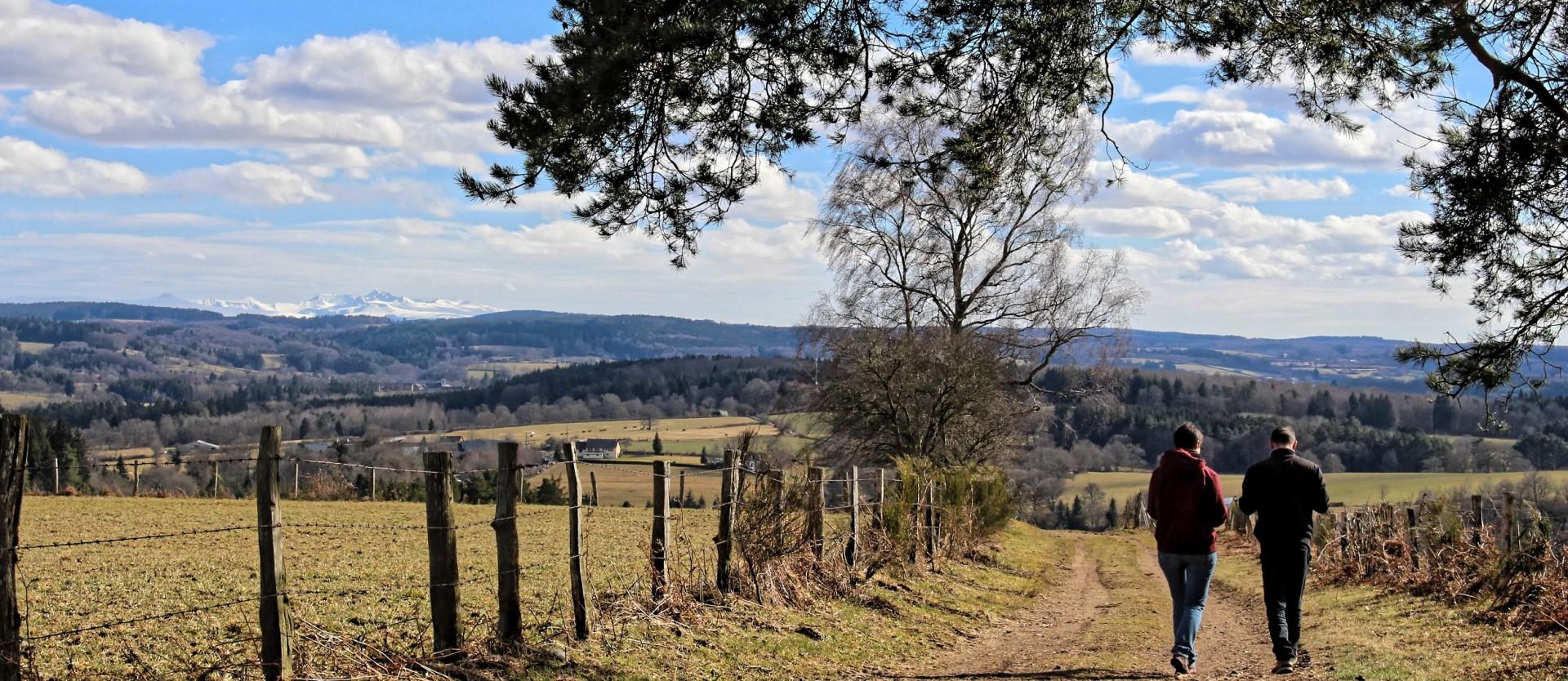 Bienvenue dans les Combrailles au coeur de l'Auvergne