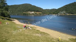baignade au pont du Bouchet lac des Fades