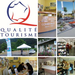Marque Qualité tourisme OT Combrailles