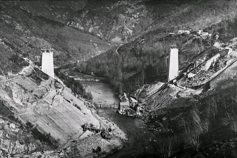Archives construction Viaduc des Fades
