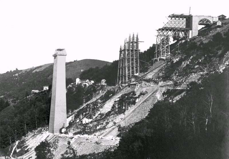 Archives construction Viaduc des Fades