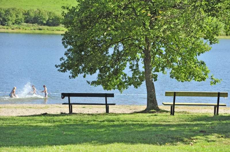 baignade au lac d'Anschald