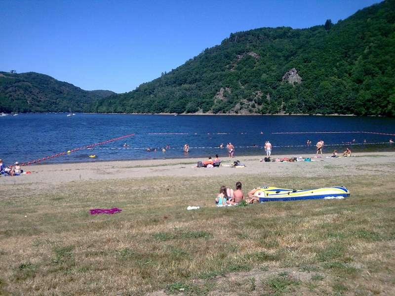 baignade au lac des Fades-Besserve