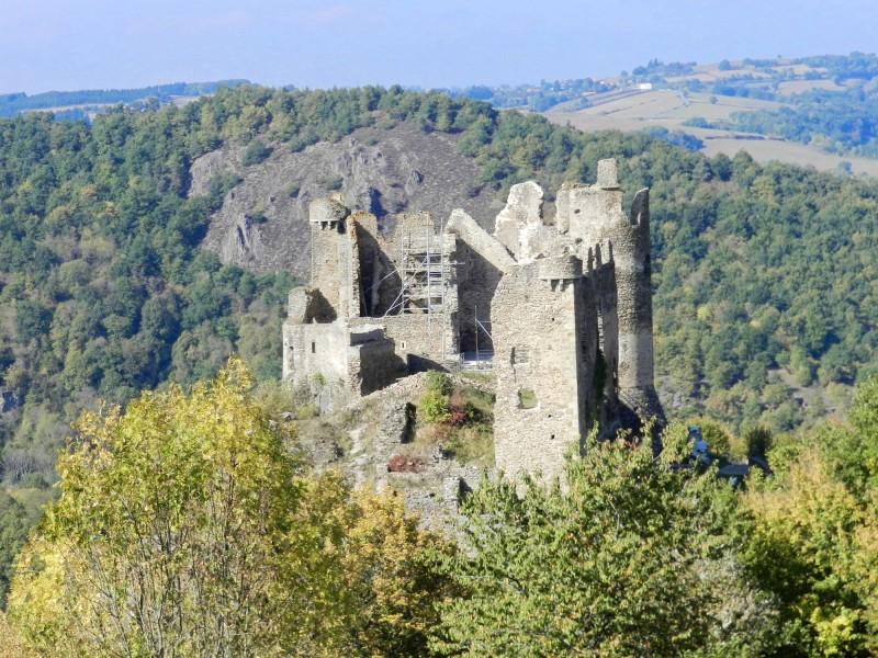 Gorges de la Sioule Château Rocher