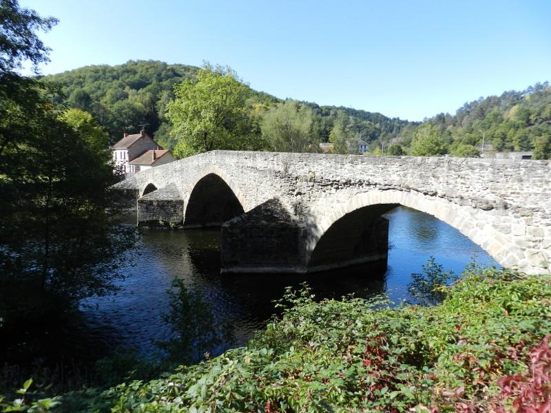 Gorges de la Sioule Pont de Menat