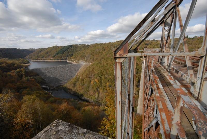 Viaduc et barrage des Fades