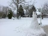 le Clos des Hirondelles sous la neige